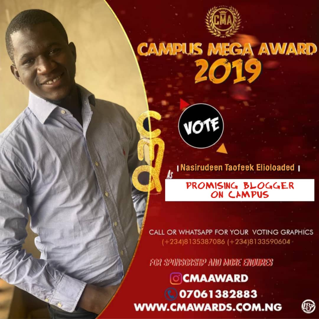 Is only vote can make him achieve this pls VOTE FOR HIM